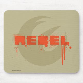 Graphique rebelle de Star Wars Tapis De Souris