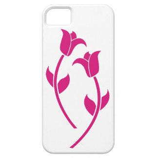 Graphique rose de tulipe coque iPhone 5 Case-Mate