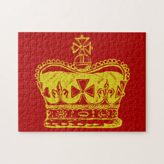 Graphique royal de couronne puzzle