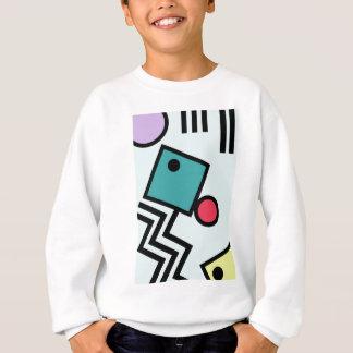 Graphiques abstraits de style d'art de bruit de sweatshirt