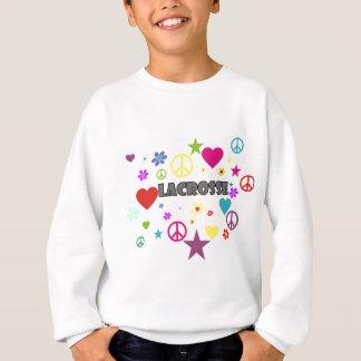 Graphiques mélangés de lacrosse sweatshirt