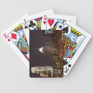 Gratte-ciel modernes de Philadelphie du centre Jeu De Poker