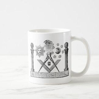 Gravure maçonnique du 19ème siècle de G Kenning Mug