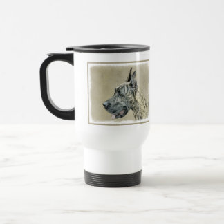 Great dane (Brindle) Mug De Voyage