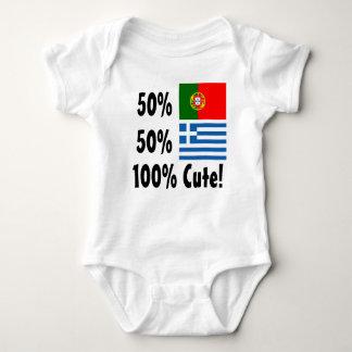 Grec du Portugais 50% de 50% 100% mignon Body