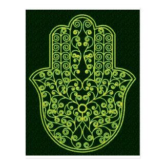 Green*Hamsa Cartes Postales