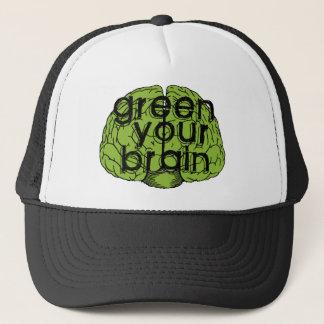 Green your brain casquette