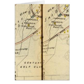Greenburg, New York 6 Cartes
