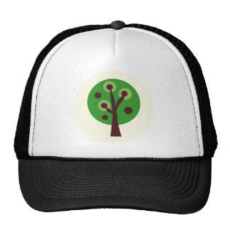 GreenDotTrees14 Casquettes De Camionneur