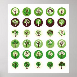 GreenDotTrees1 Poster