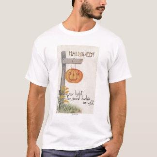GreetingJack-O-Lanterne de Halloween sur le T-shirt