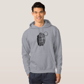 Grenade à main à capuchon de base du sweatshirt