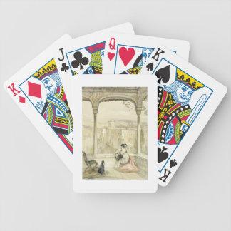Grenade (Alhambra), plaquent 9 des 'croquis de Spa Jeu De Poker