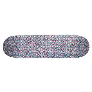 Grenade recréé plateau de skateboard