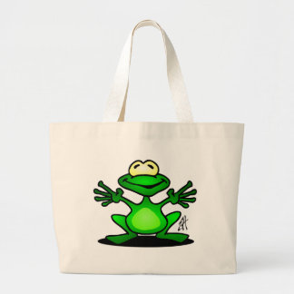 Grenouille amicale grand sac