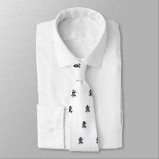 Grenouille colorée tachetée par espièglerie cravates