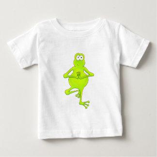 Grenouille d'arbre de yoga t-shirts