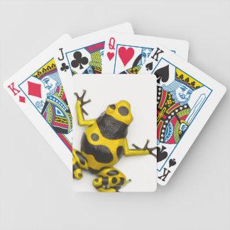 Grenouille de dard de poison de bourdon jeu de cartes