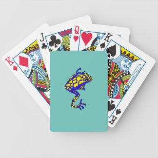 Grenouille de hippie jeu de cartes