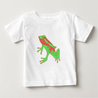 Grenouille de hippie t-shirt pour bébé