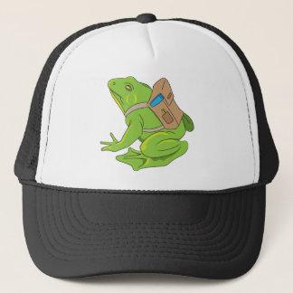 Grenouille d'école casquette