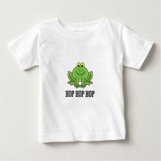 Grenouille d'houblon d'houblon d'houblon t-shirt pour bébé