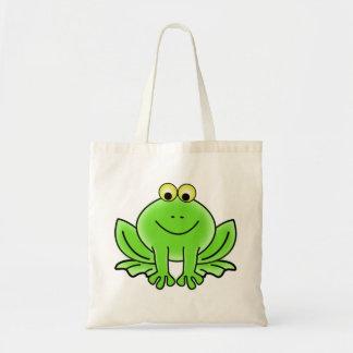 Grenouille drôle mignonne sac