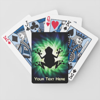 Grenouille fraîche jeu de cartes