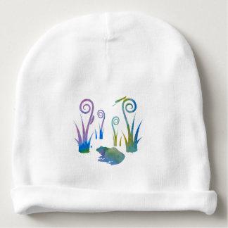 Grenouille, insectes, de plantes étranges bonnet de bébé