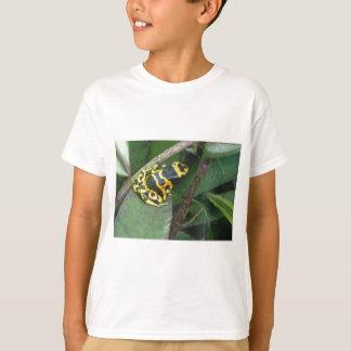Grenouille jaune de flèche de dard de poison t-shirt