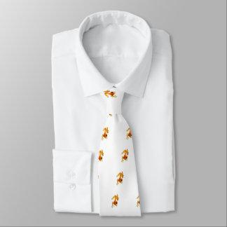Grenouille orange et jaune par espièglerie cravates