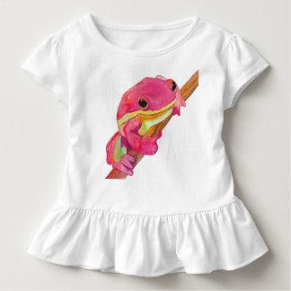 Grenouille rose t-shirt pour les tous petits