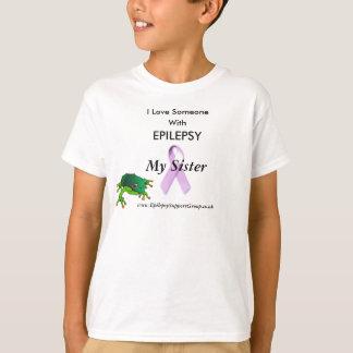grenouille, ruban lilas, j'aime quelqu'un, avec t-shirt