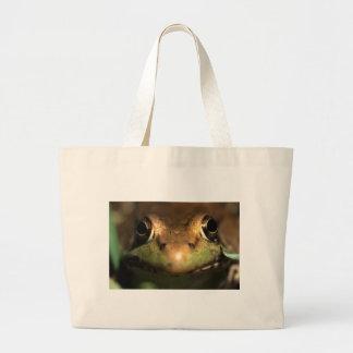 grenouille sac en toile jumbo