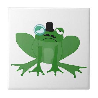 grenouille snob carreau