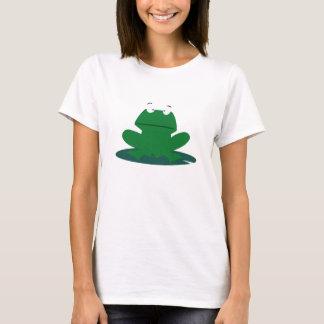 Grenouille sur un Lilypad T-shirt