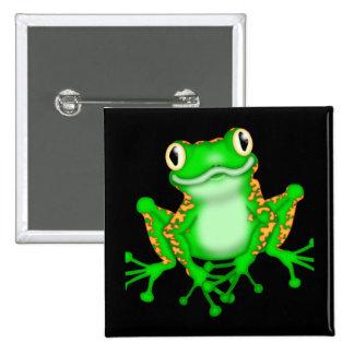 Grenouille verte badge