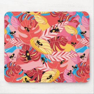 Grenouilles de jungle tapis de souris