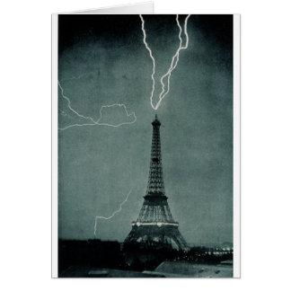 Grèves surprise Tour Eiffel, 1902 Cartes