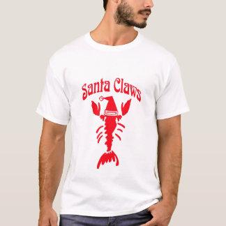 Griffes de Père Noël d'écrevisses de homard T-shirt