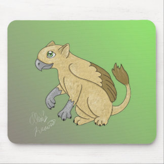 Griffon de bébé tapis de souris