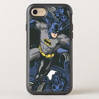 Griffonnage 2 de crânes/encre de Batman Coque OtterBox Symmetry iPhone 8/7