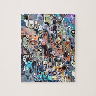 Griffonnage abstrait 2 de Digitals Puzzle