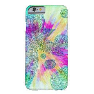 Griffonnage de colorant de cravate par Megaflora Coque Barely There iPhone 6