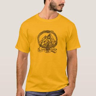 Griffonnage de rhum t-shirt
