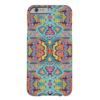 griffonnage d'ikat coque iPhone 6 barely there