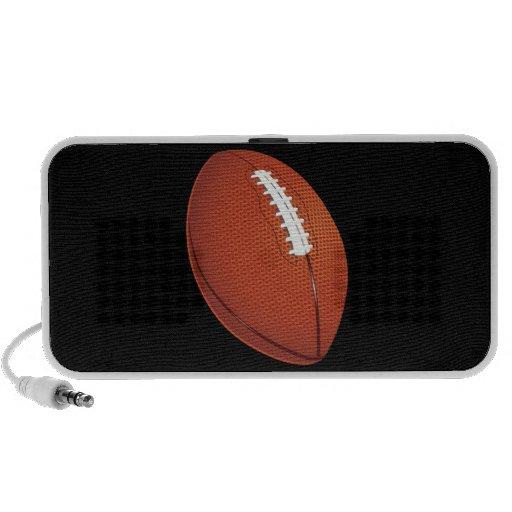 Griffonnage du football haut-parleur iPod