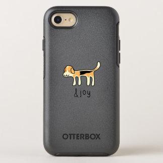 griffonnage mignon de chat siamois et de joie coque otterbox symmetry pour iPhone 7