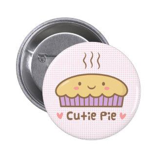 Griffonnage mignon de tarte de Cutie pour des Badges
