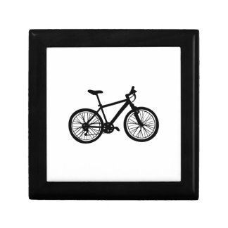 Griffonnage tiré par la main simple de bicyclette boîte à souvenirs